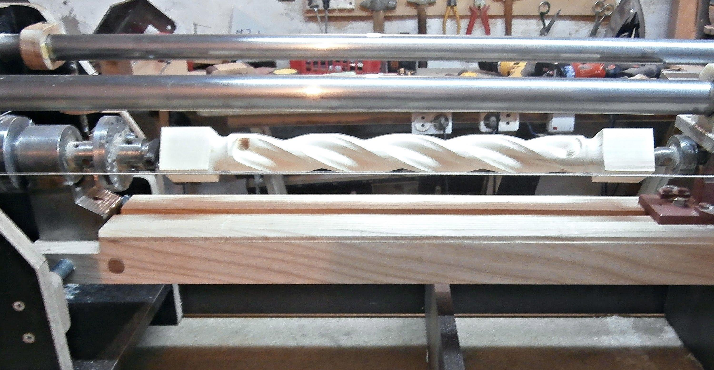 Изготовление своими руками станка для балясин