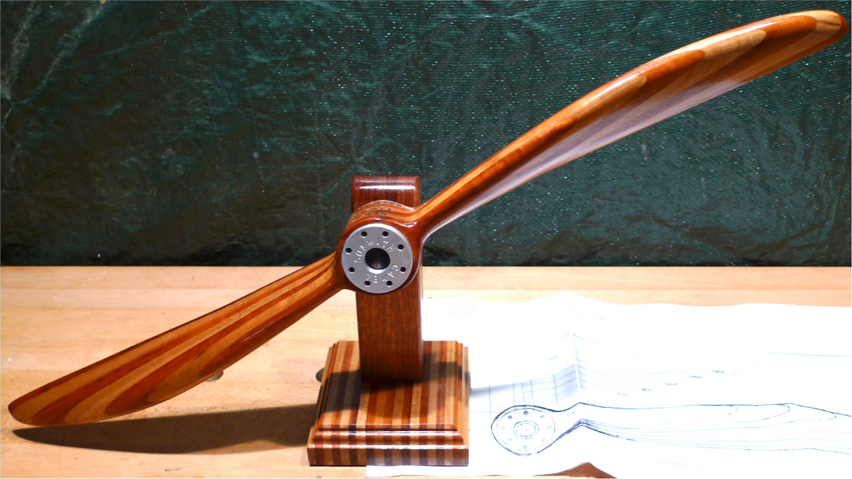 Как сделать пропеллер из дерева своими руками